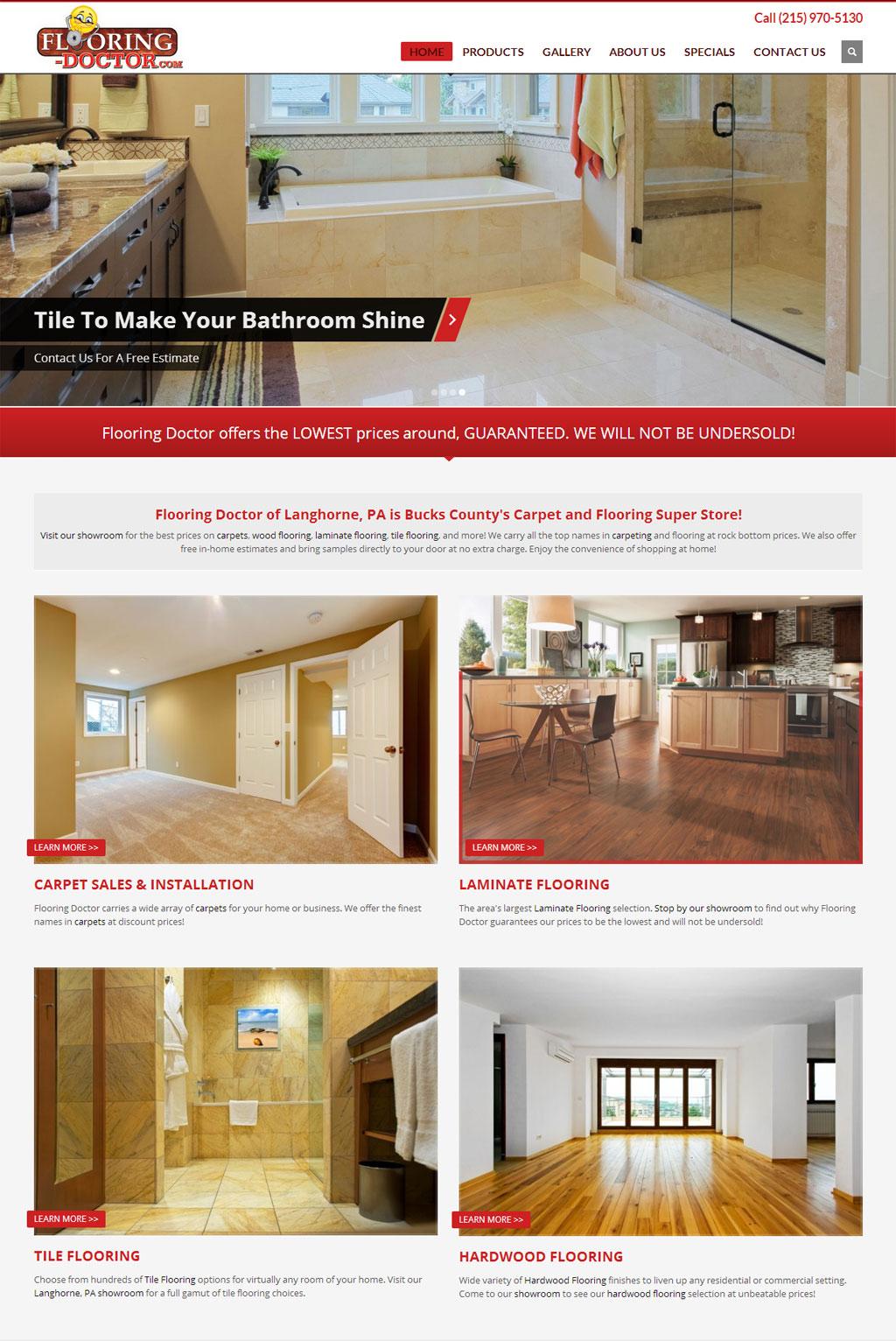 Flooring Doctor - Wordpress Web Design | Wordpress Support