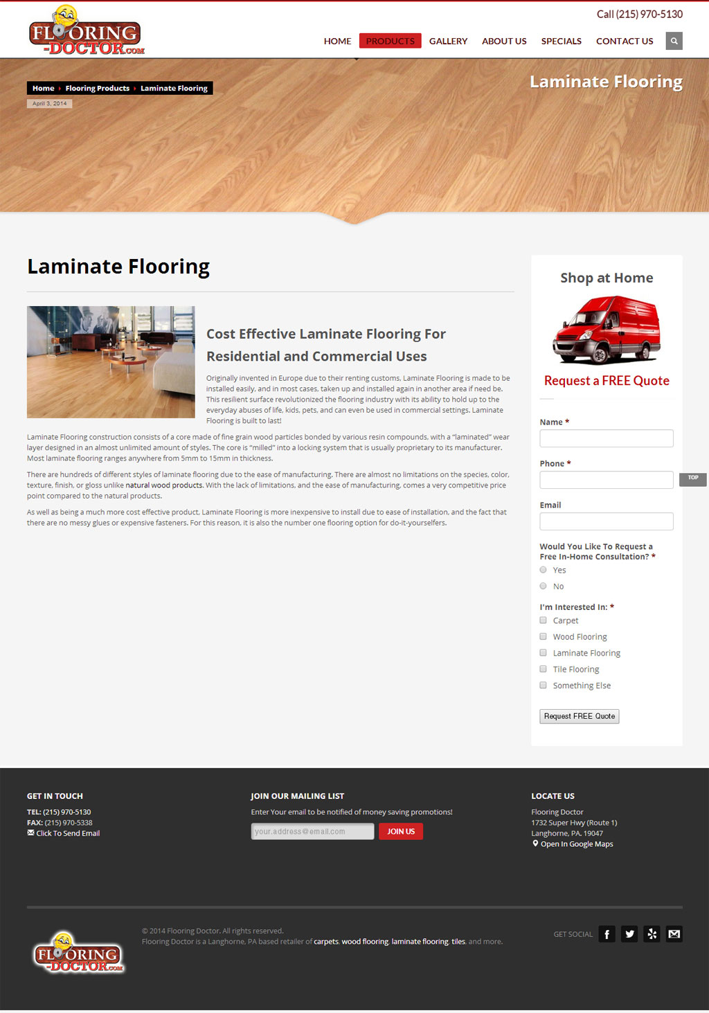 Flooring Doctor Inside Page