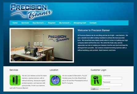 Precision Banner